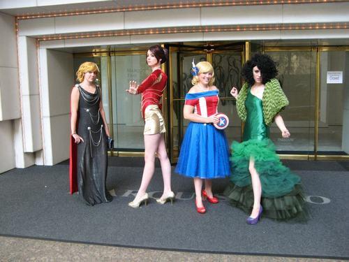 Marvel dresses